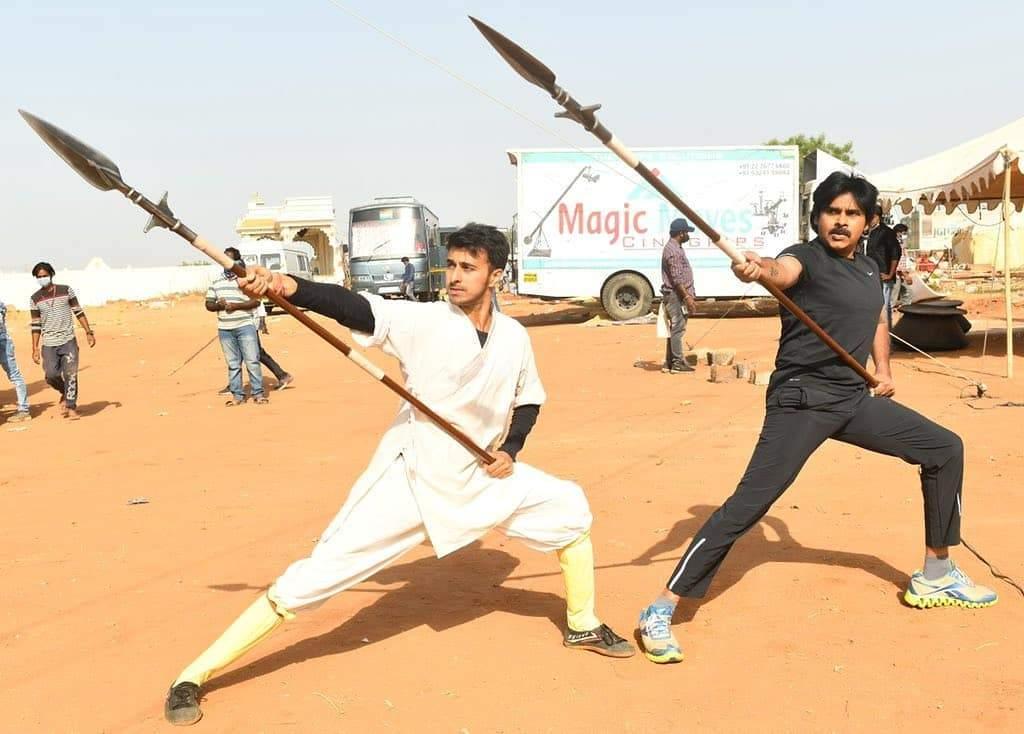 Pawan Kalyan martial arts