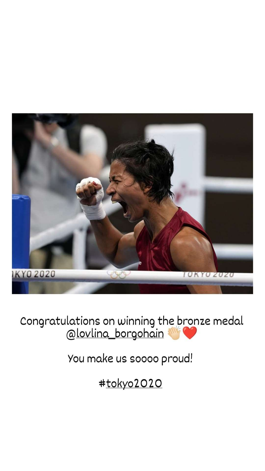 , B'Wood wish Lovlina as she clinches bronze, The World Live Breaking News Coverage & Updates IN ENGLISH