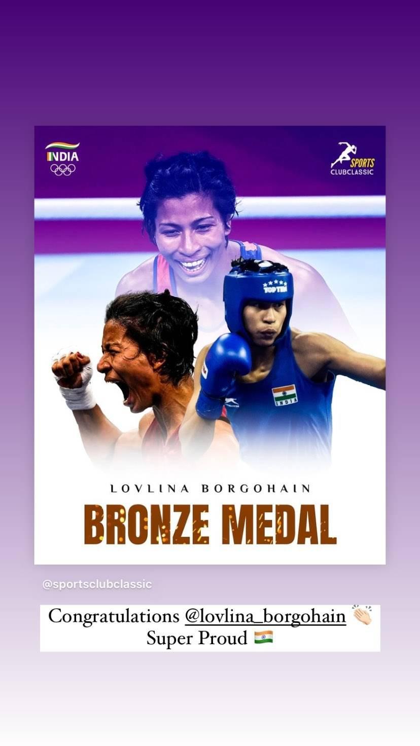 B'Wood wish Lovlina as she clinches bronze