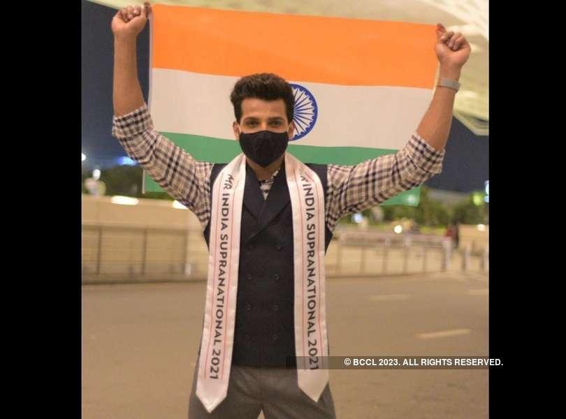 Rahul Rajasekharan jets off for Poland to represent India at Mister Supranational 2021