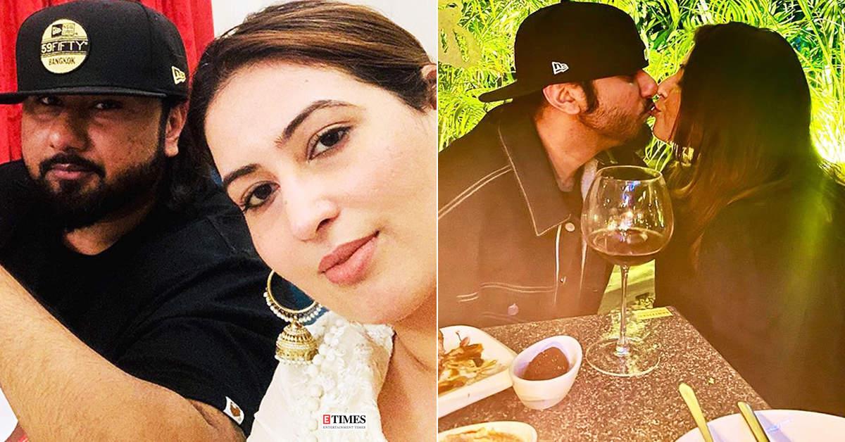Viral pictures of Yo Yo Honey Singh & wife Shalini