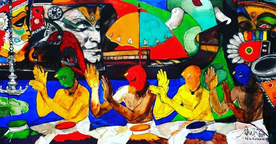 Artist- M Narayan.