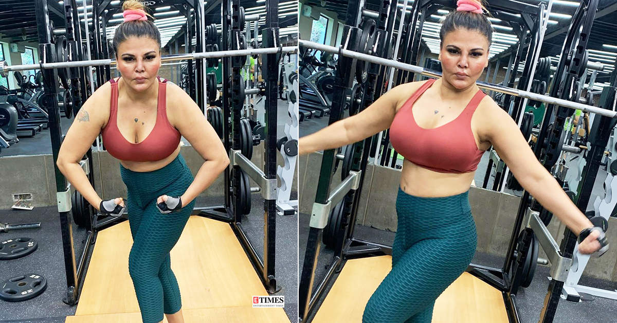 Rakhi Sawant gets brutally trolled for her new workout pictures