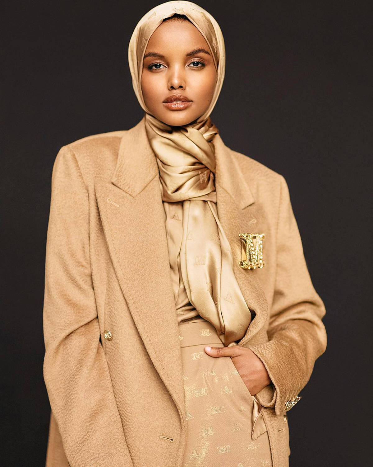Halima Aden ups the glam quotient with her stunning beauty