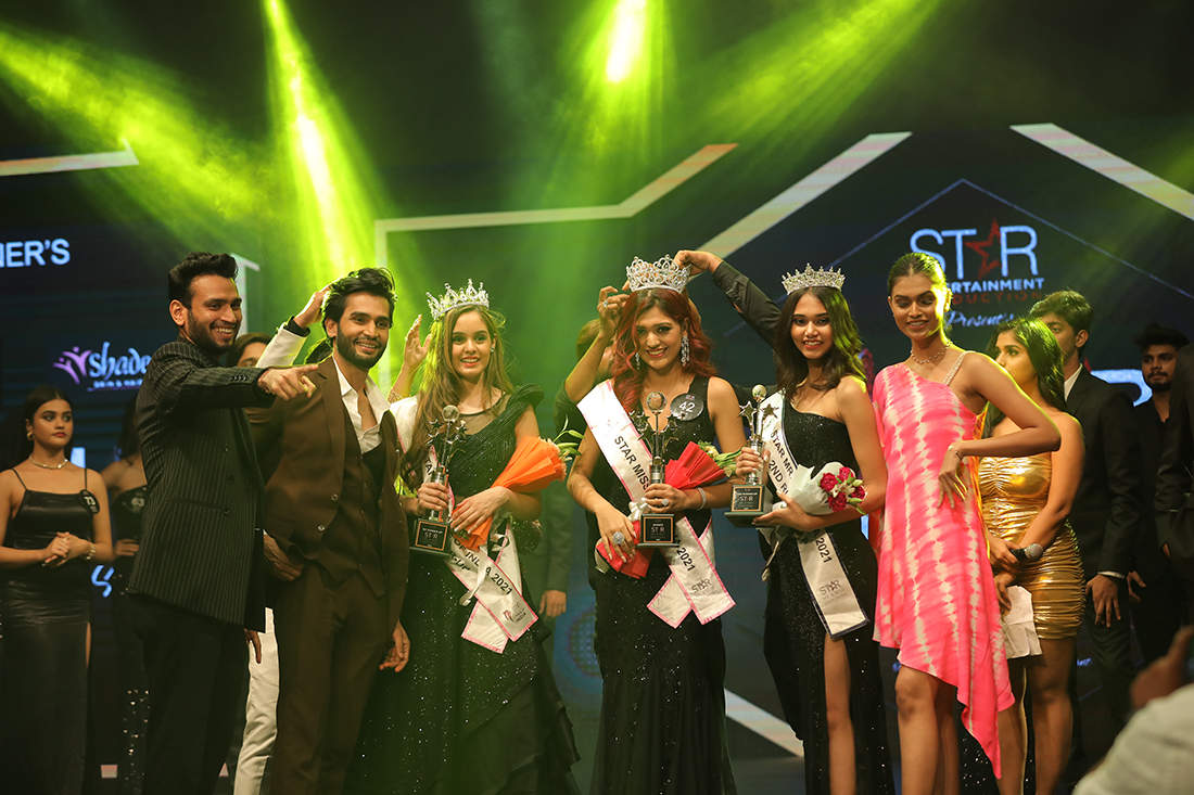 Pictures of young & gorgeous talents from Star Entertainment beauty Pageant