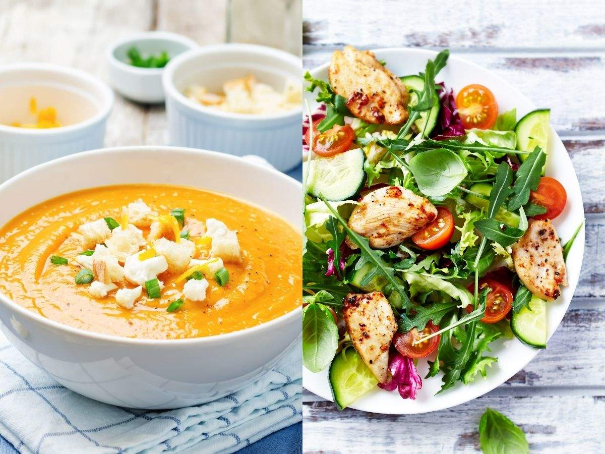 Weight loss: Can having soups and salads every day really help you lose weight?   The Times of India