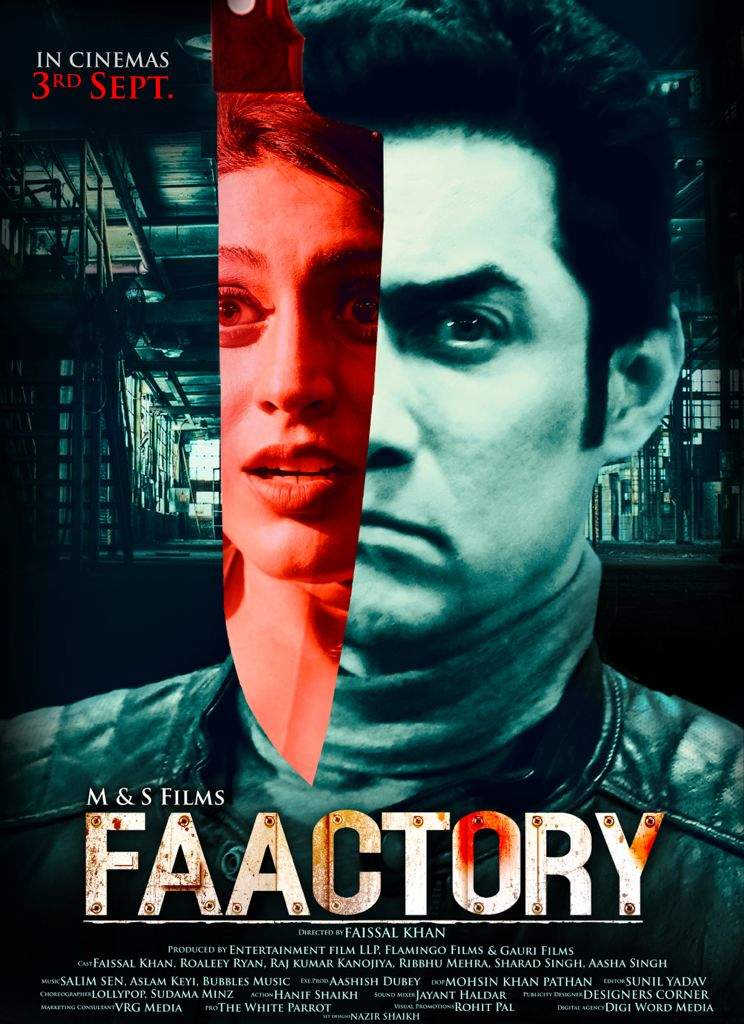 Pictures of Faissal Khan's 'Faactory' which is set to release on 3rd September