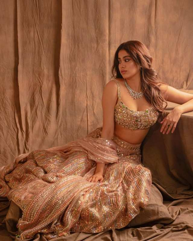 Janhvi Kapoor is making heads turn with her new glamorous photoshoots