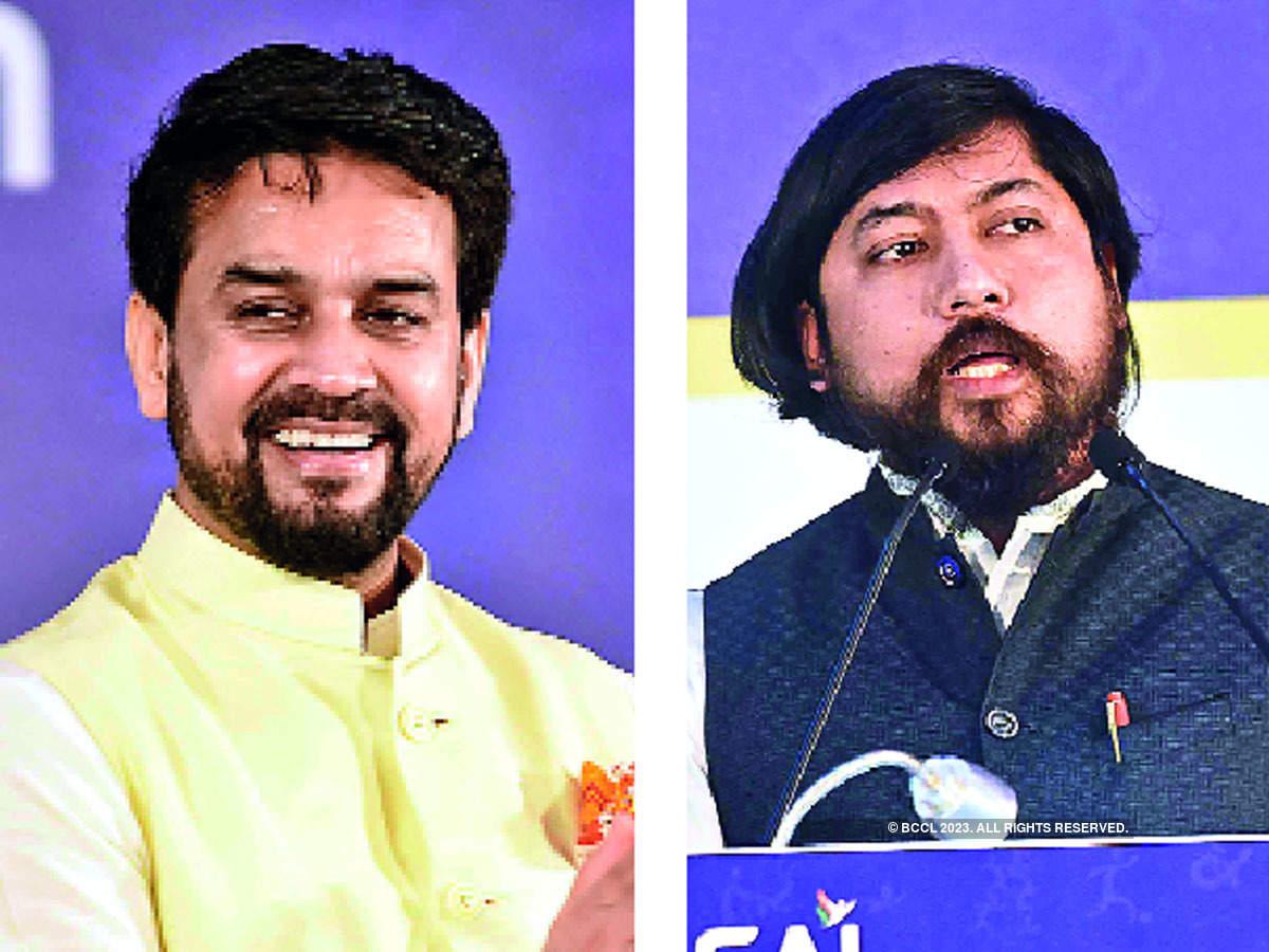 Anurag Thakur and Nisith Pramanik
