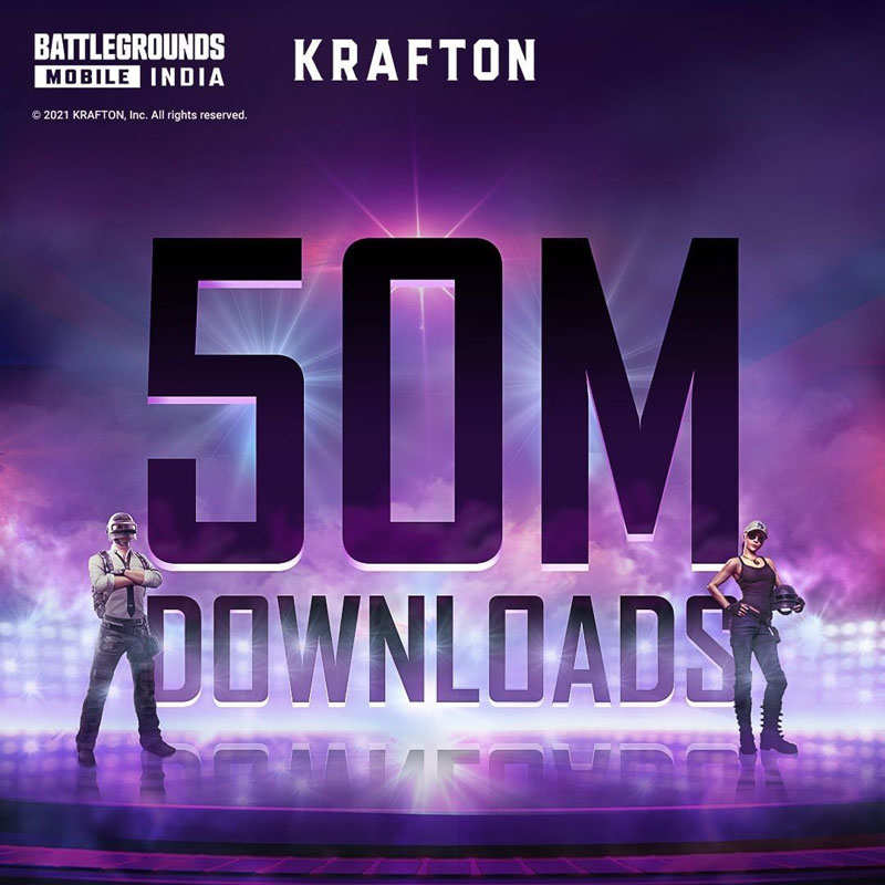 BGMI crosses 50 million downloads on Play Store