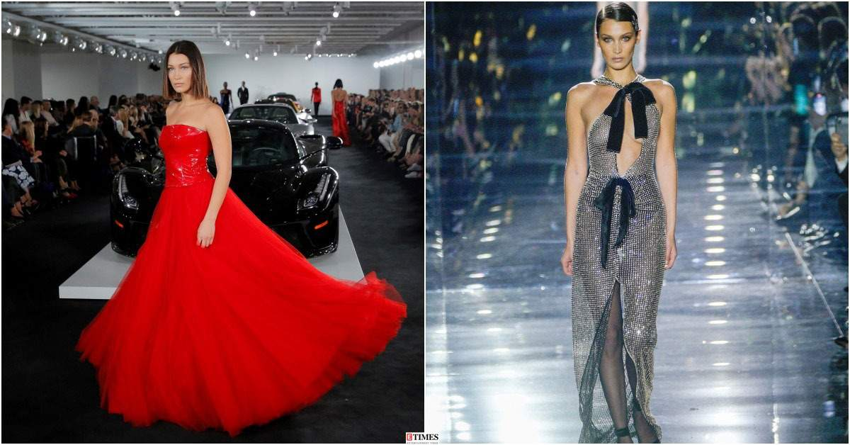 Bella Hadid's best runway moments in photos! These outstanding looks of the model make fans gaga over her beauty