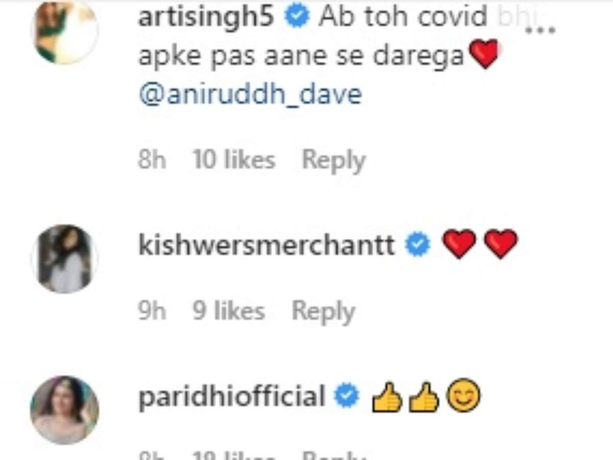 Anirudh Arti comment