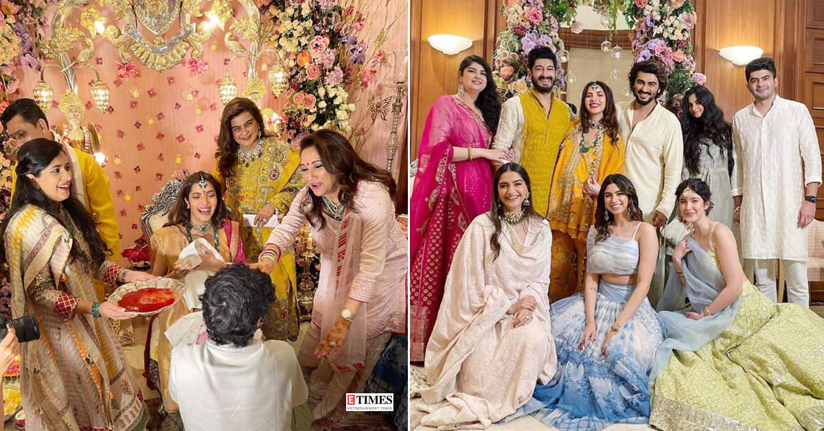 Arjun, Sonam, Shanaya & the entire Kapoor family gather to make Antara Marwah's baby shower memorable