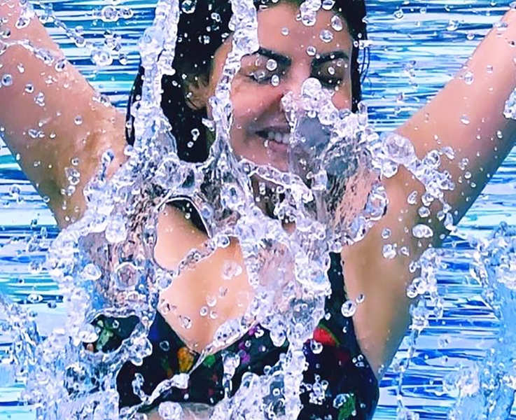 These pool pictures of South diva Kajal Aggarwal will help you to beat the summer heat!