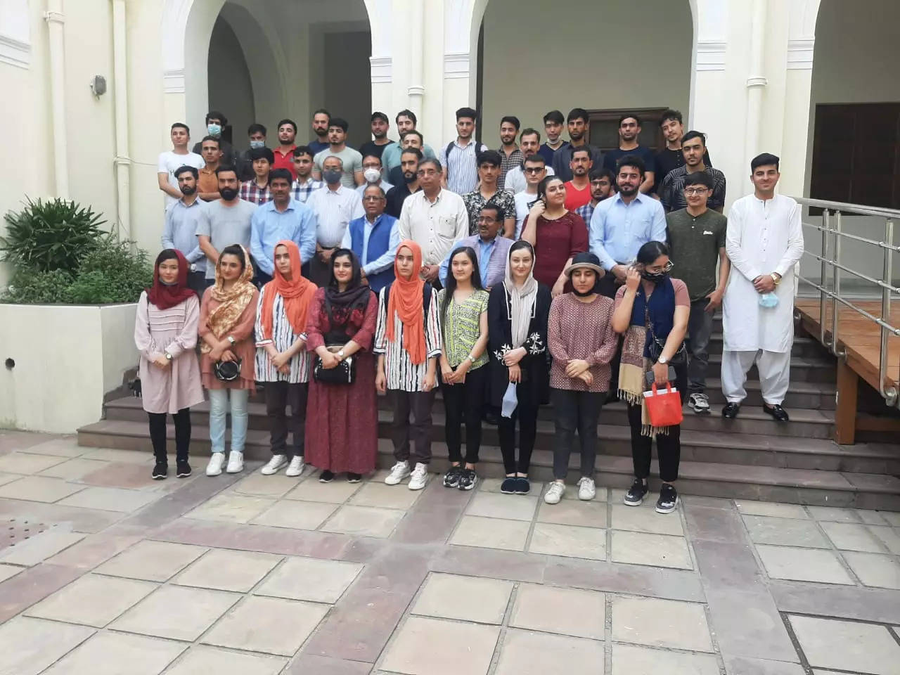 Afghan students share worries on visa extension, ICCR scholarship, accommodation with DU VC