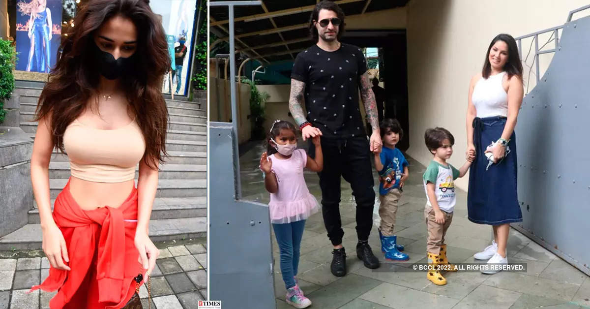 #ETimesSnapped: From Disha Patani to Sunny Leone, paparazzi pictures of your favourite celebs