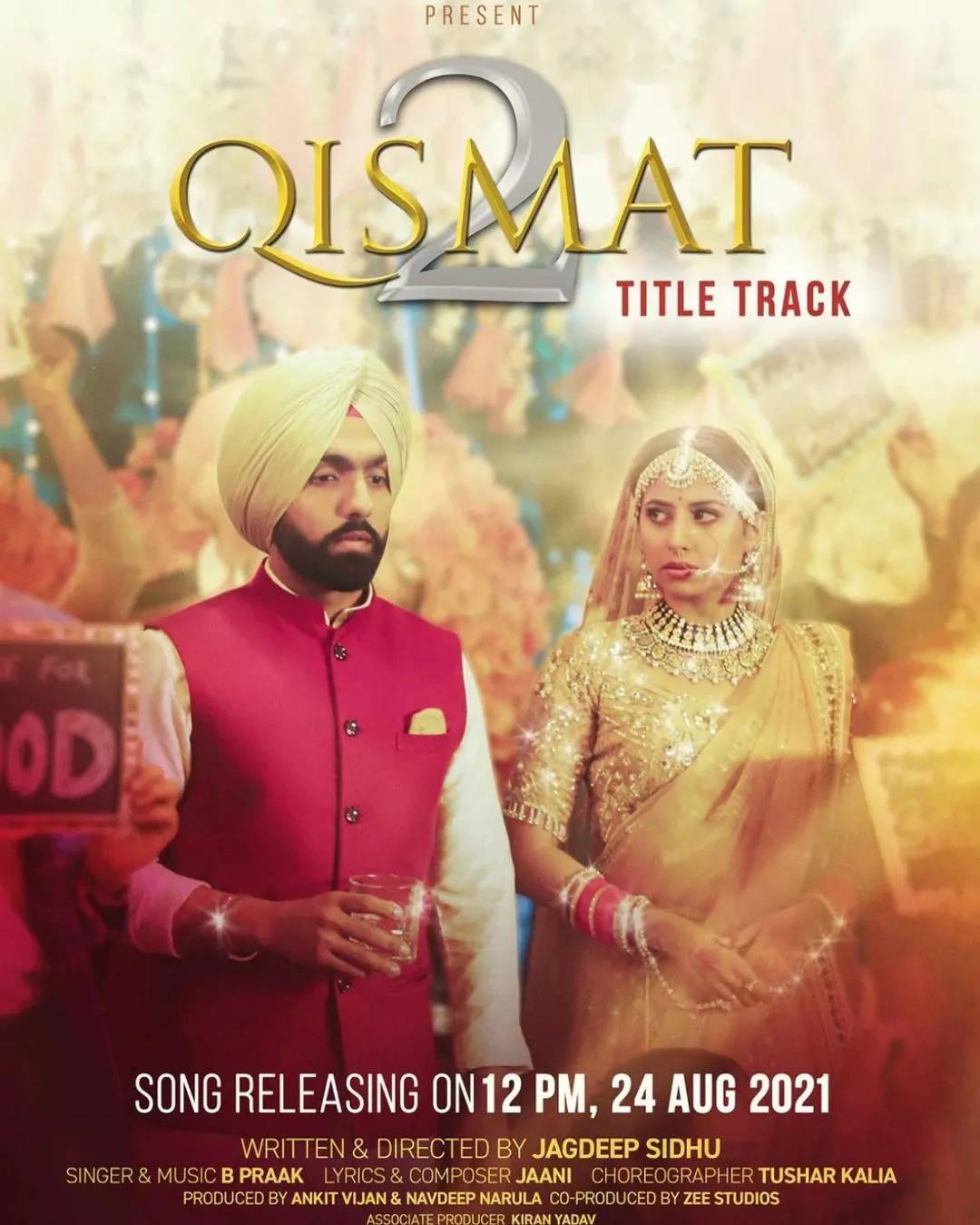 Qismat 2 (2021) V2 Punjabi Full Movie 480p HQ PreDvDRip x264 400MB Download