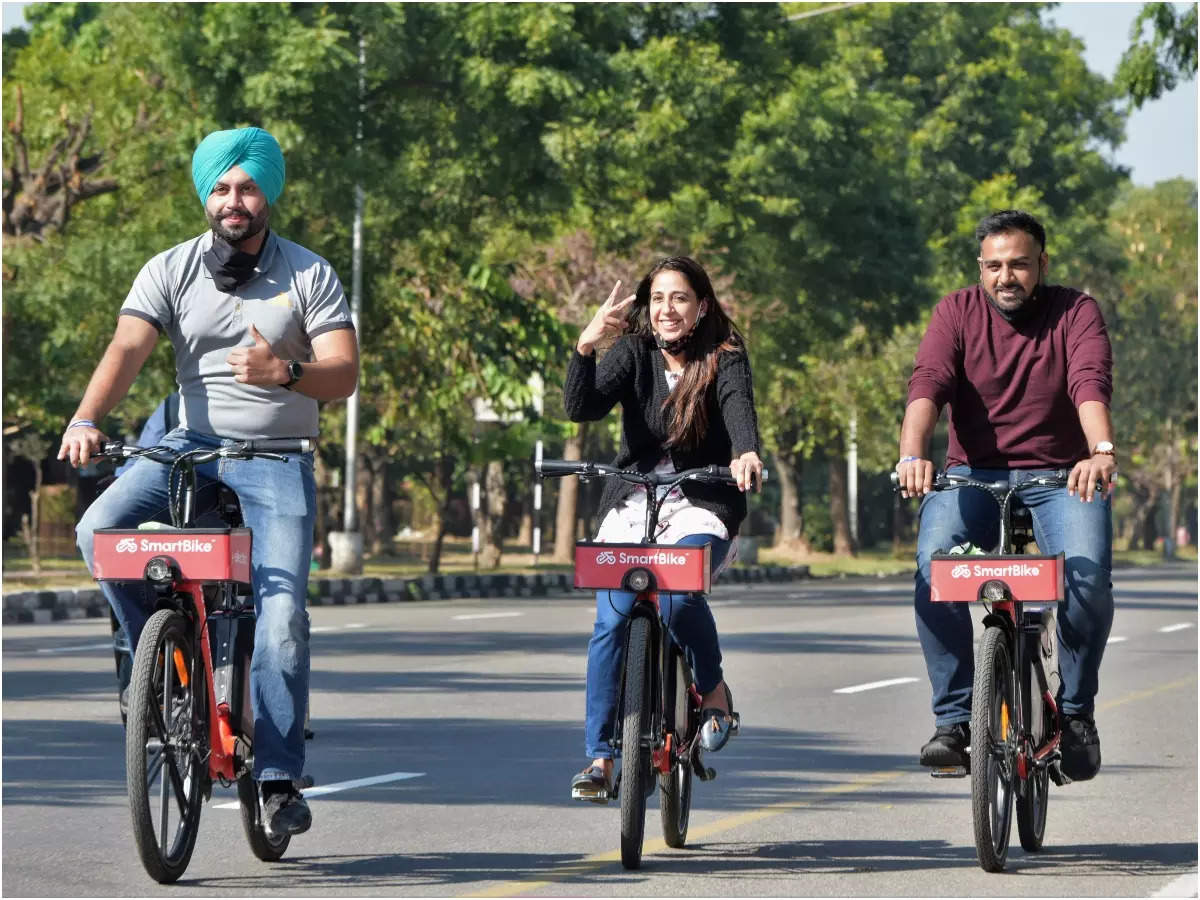 Public Cycle Sharing System in Chandigarh