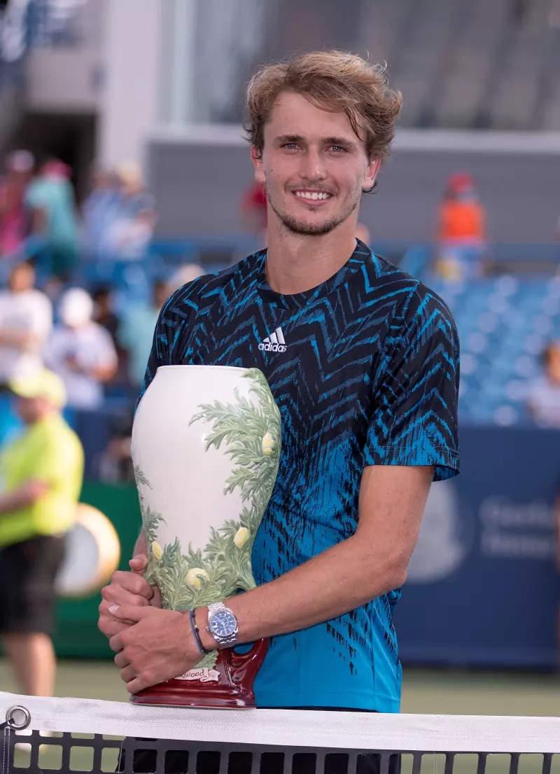 Alexander Zverev wins Cincinnati Masters title, rises to No. 4 in ATP rankings