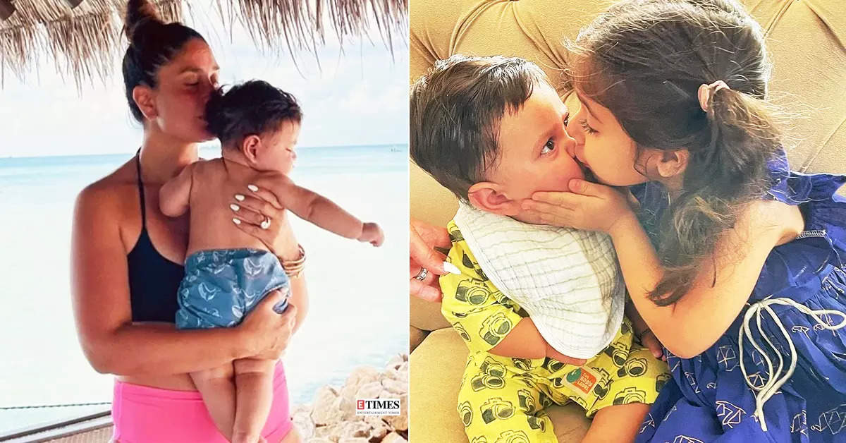 These adorable pictures of Kareena Kapoor Khan's little Jeh are too cute to miss