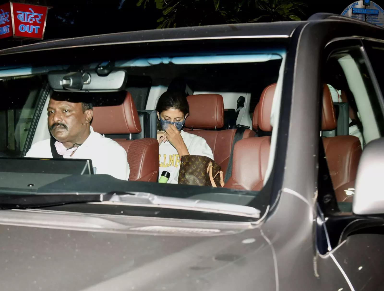 Amitabh Bachchan and Shweta Bachchan