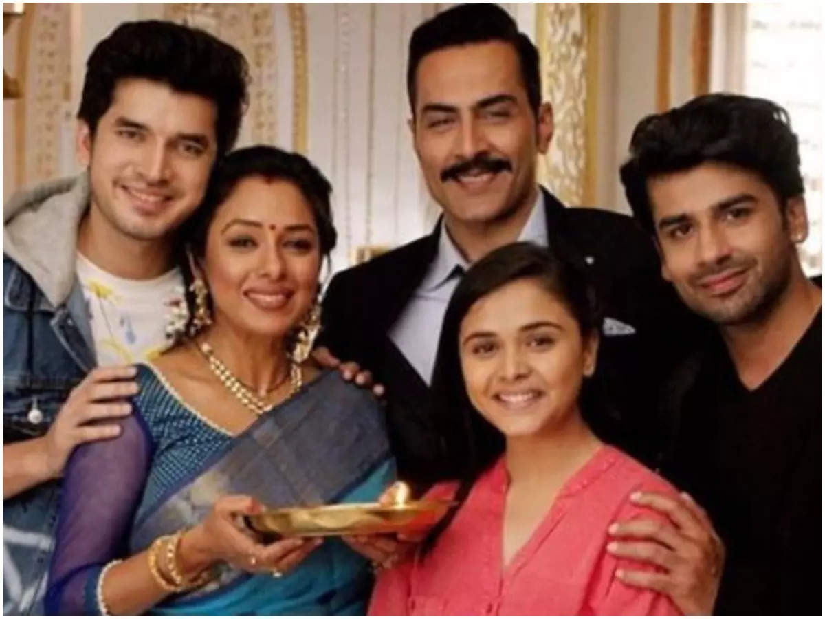 A still from the show Anupamaa (BCCL)
