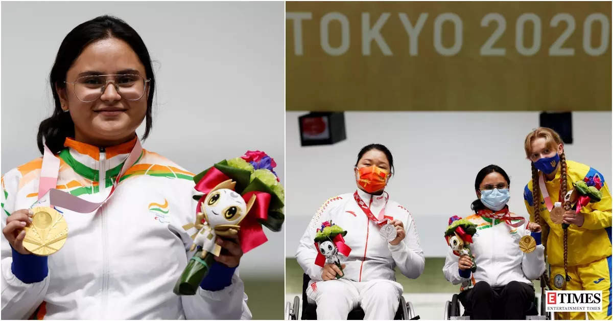 Tokyo Paralympics 2020: Avani Lekhara wins historic gold in shooting, photos of the athlete will make your heart swell with pride