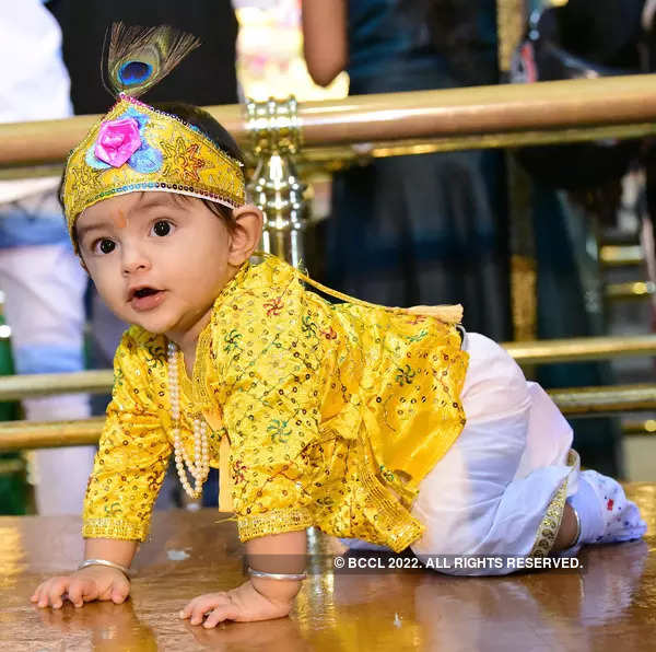 30 pictures from Janmashtami celebrations across the nation