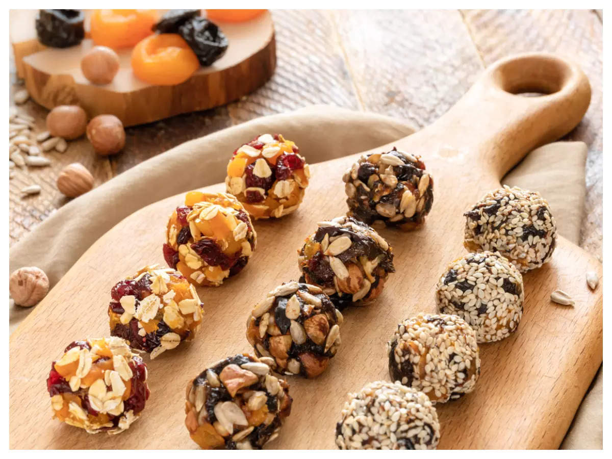These 3-minute energy balls can make for a healthy snack   The Times of India