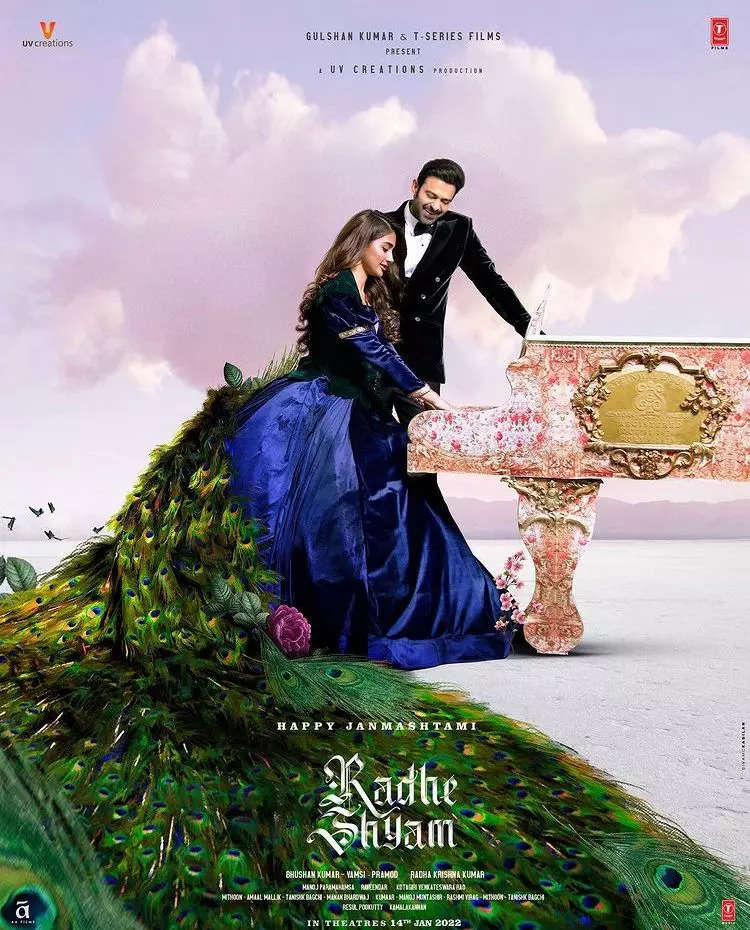 Pooja Hegde unveils the new poster of Radhe Shyam