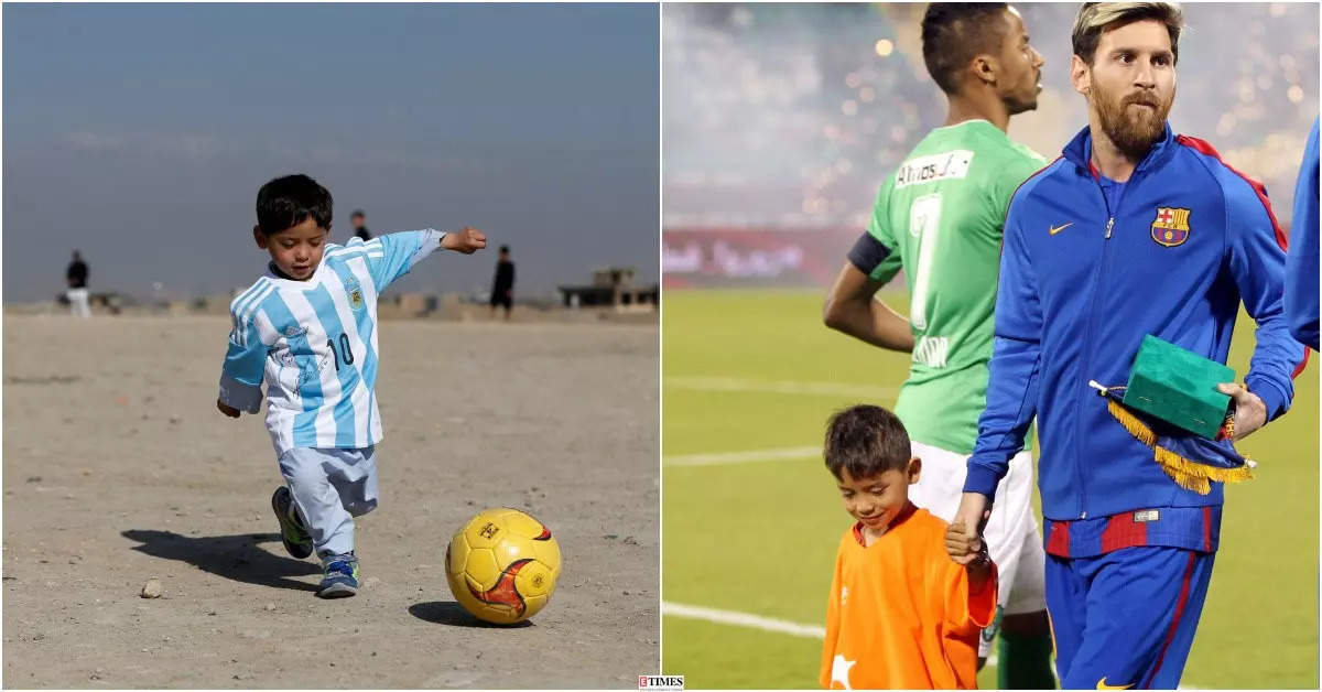 Meet Lionel Messi's Afghan fan Murtaza Ahmadi whose tragic story will leave you in tears