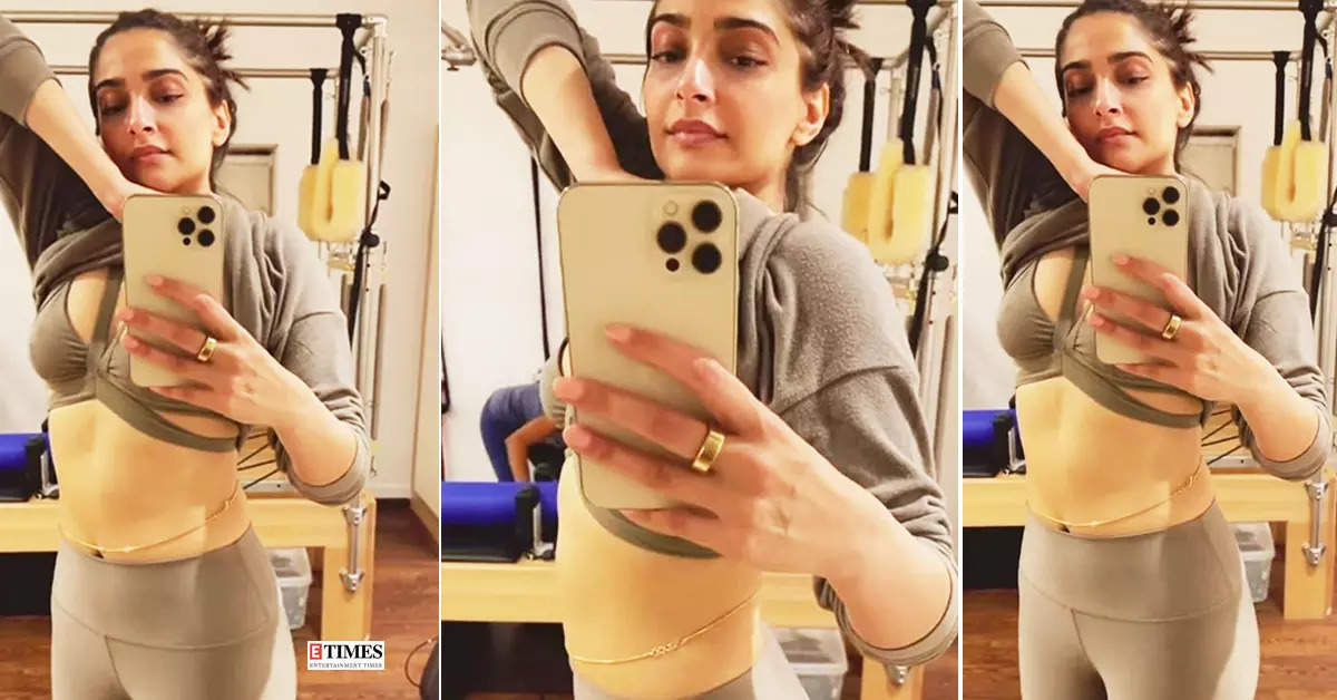 Sonam Kapoor shuts down pregnancy rumours, flaunts her toned abs in these new pictures