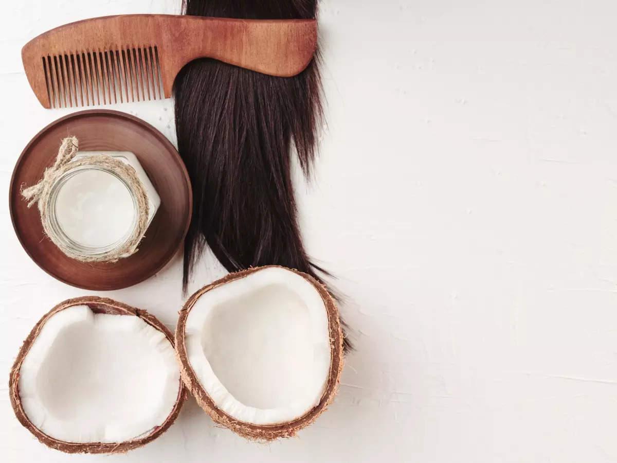 How do coconut-based oils strengthen your hair?
