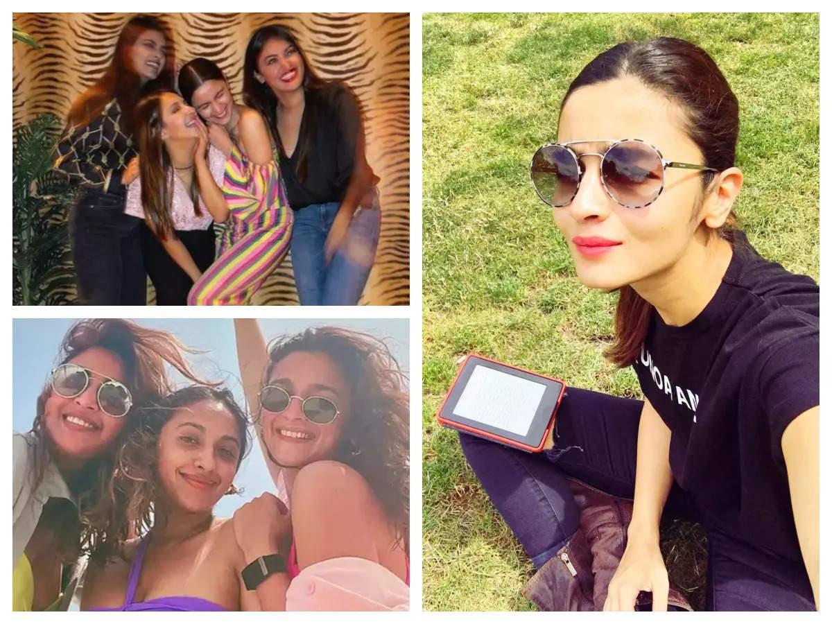 5 times Alia had fun with her girlfriends