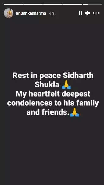 B'town celebs mourn Sidharth Shukla's demise