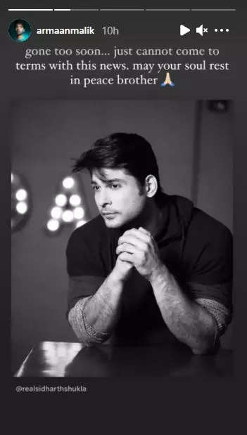 , B'town celebs mourn Sidharth Shukla's demise, The World Live Breaking News Coverage & Updates IN ENGLISH