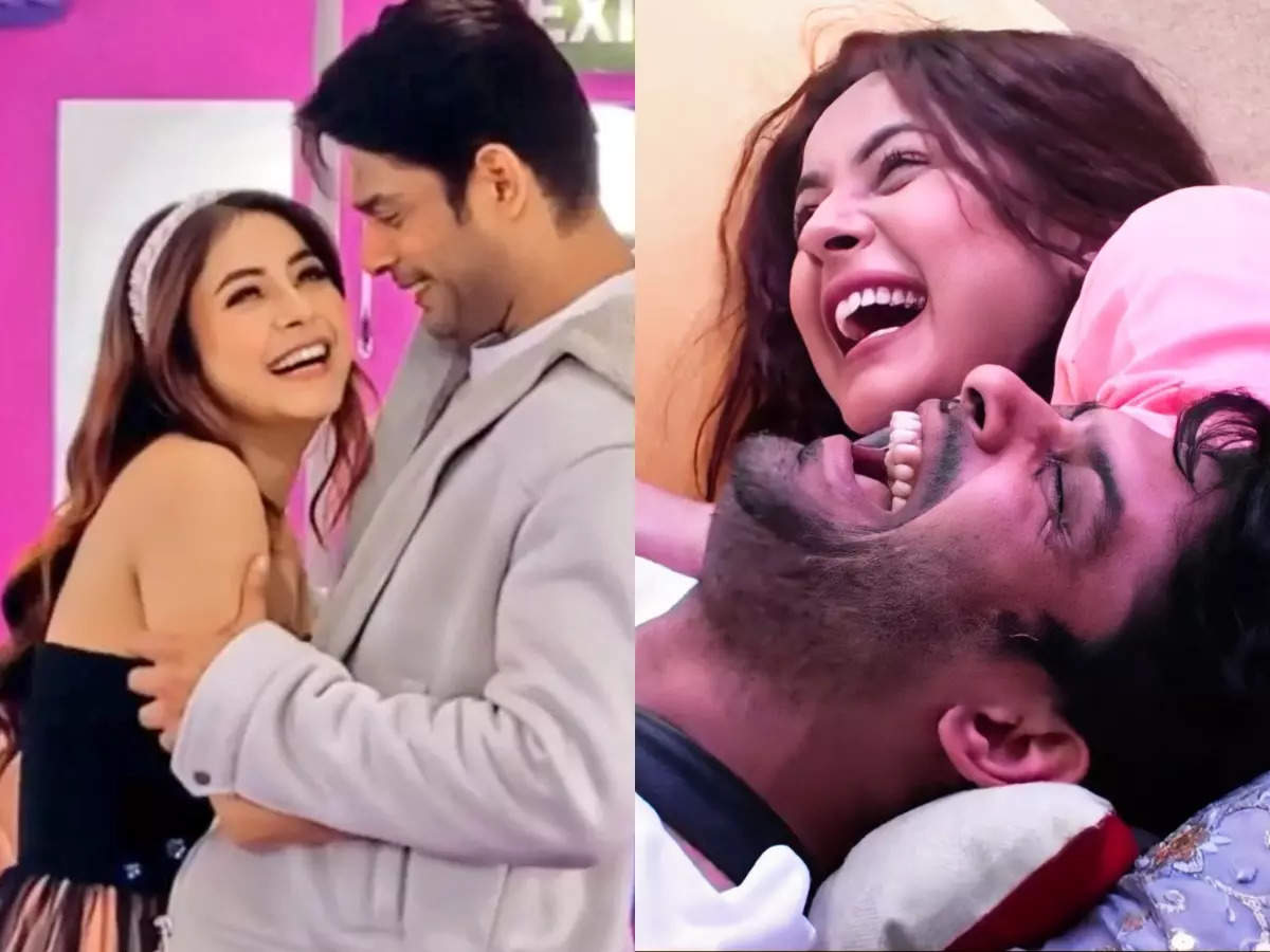 Sidharth Shukla and Shehnaaz Gill's most memorable moments together cannot  be missed; see photos | The Times of India