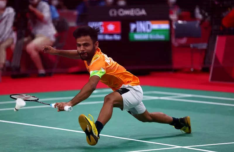 Krishna Nagar clinches India's 5th gold medal at 2020 Tokyo Paralympics, check photos of the shuttler's winning moment!