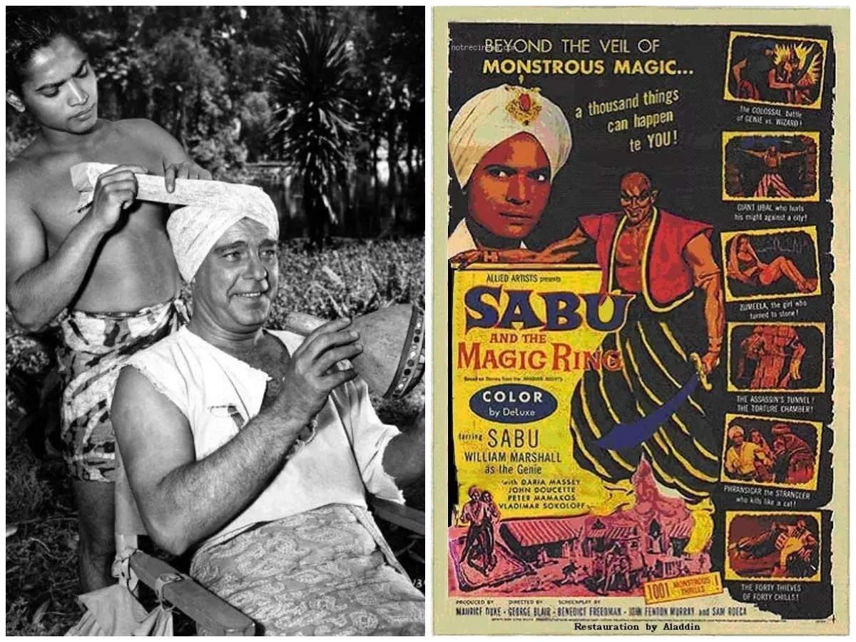 Sabu Dastagir during his heydays