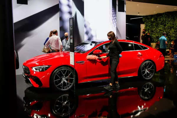 25 images of swanky cars at Munich Auto Show