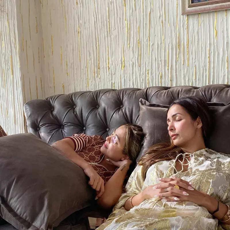 Malaika Arora & Sonam Kapoor turn heads as they party hard with BFFs