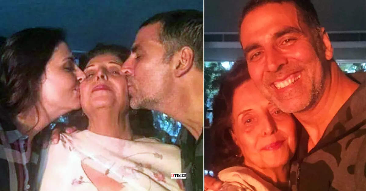Candid moments of Akshay Kumar and his late mother will make you emotional