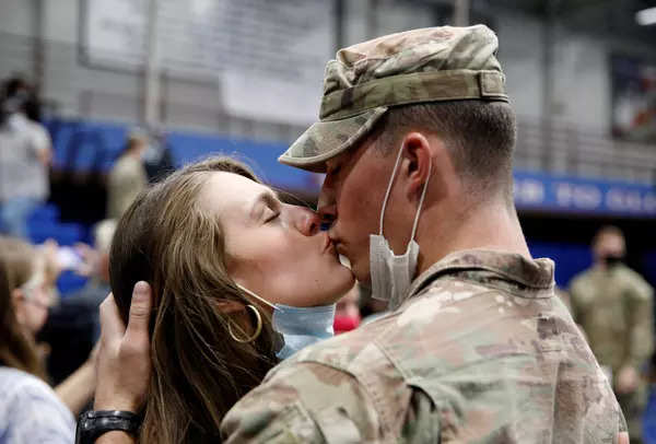 These pictures of US troops who returned home from Afghan mission will make you emotional