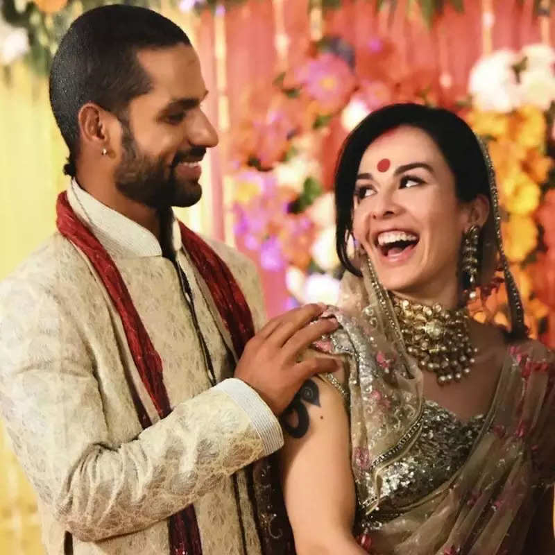 Shikhar Dhawan-Ayesha Mukerji divorce: Pictures of the couple from their happy moments resurface on the internet