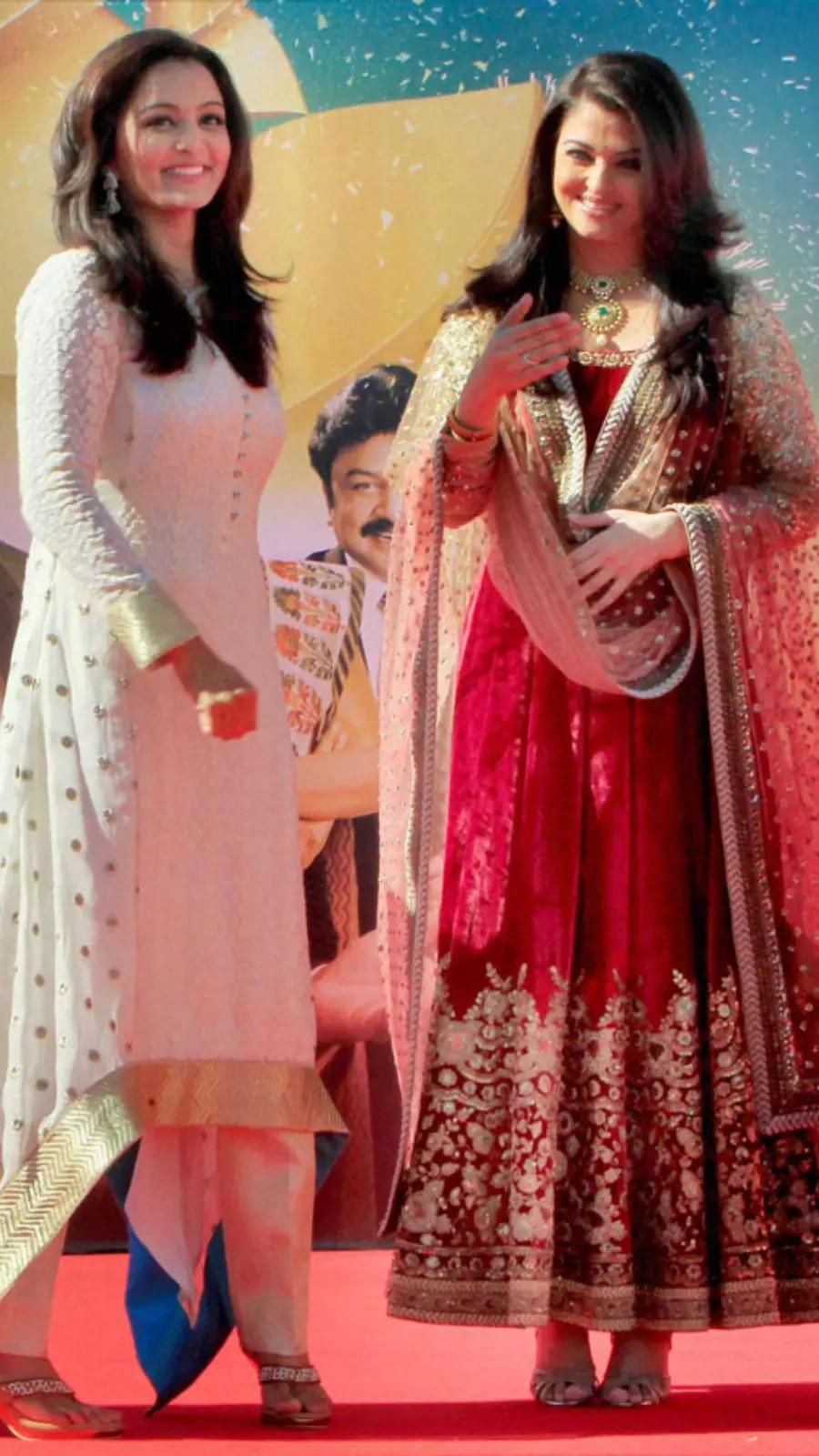 With Aishwarya Rai