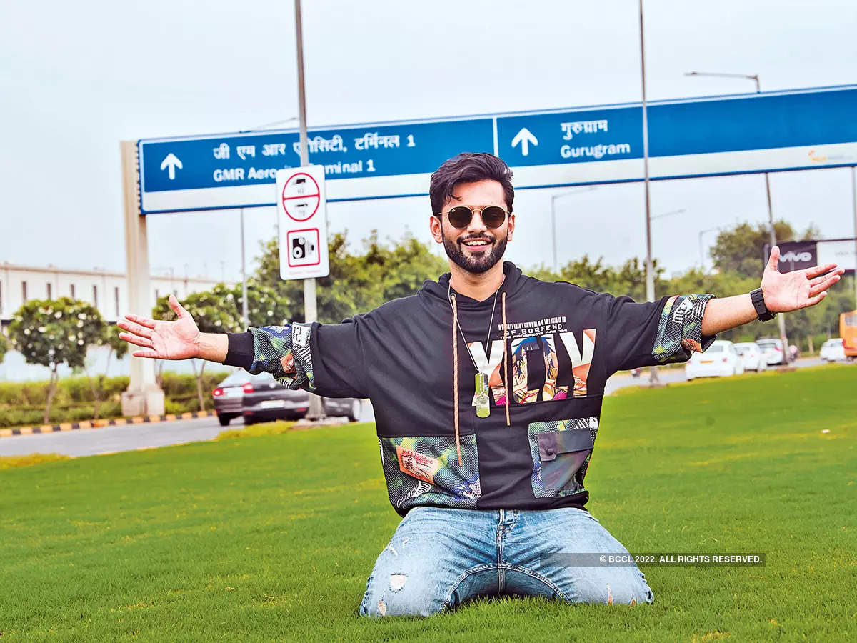 Rahul Vaidya poses for DT (Disclaimer: The singer removed his face masks in an isolated area only for the duration of the shoot. Always wear a mask when stepping out)