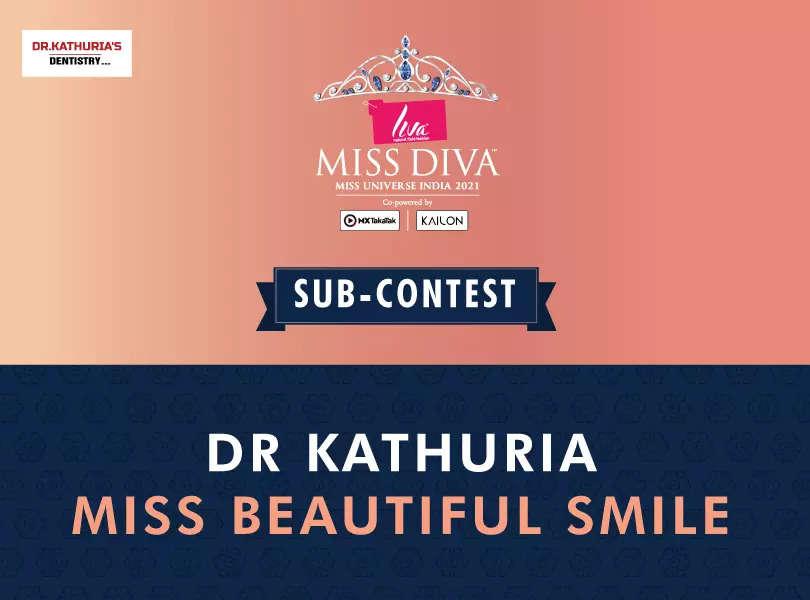 LIVA Miss Diva 2021 Dr Kathuria Miss Beautiful Smile sub-contest