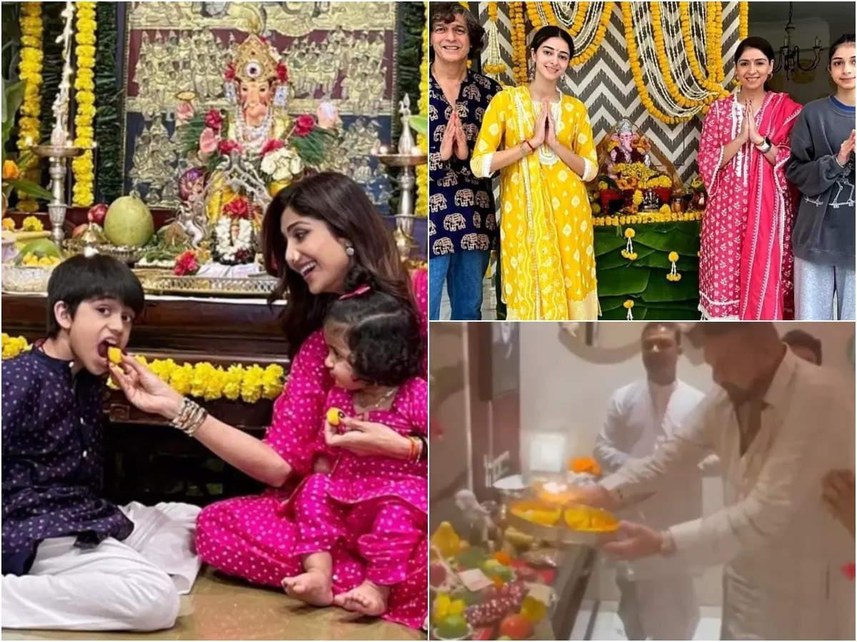 2021 Ganpati celebration in Bollywood