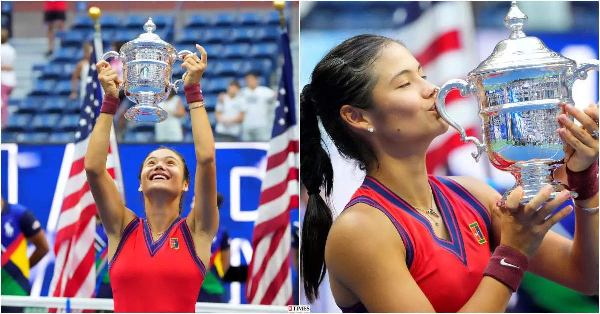 Emma Raducanu wins US Open 2021 for first Grand Slam title by a qualifier, see pictures of the teen sensation