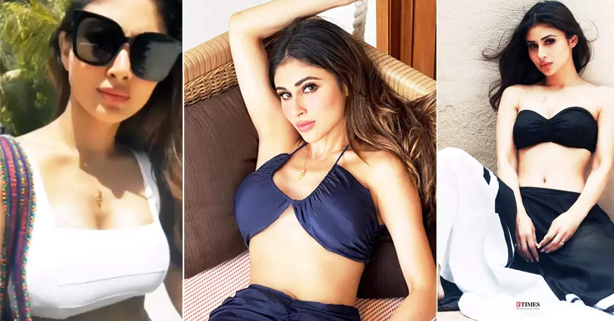 From bralettes to bikinis, Mouni Roy's breathtaking pictures prove she is ultimate style queen